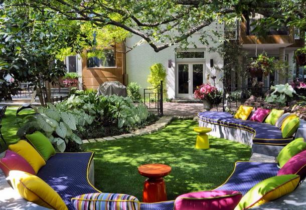 Как сделать уютный сад на даче